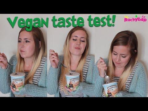 Vegan Ben and Jerry's Ice Cream Taste Test!