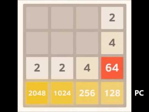 Beating 2048: 8192 tile part 2 of 4 - from 2048 to 4096 tile