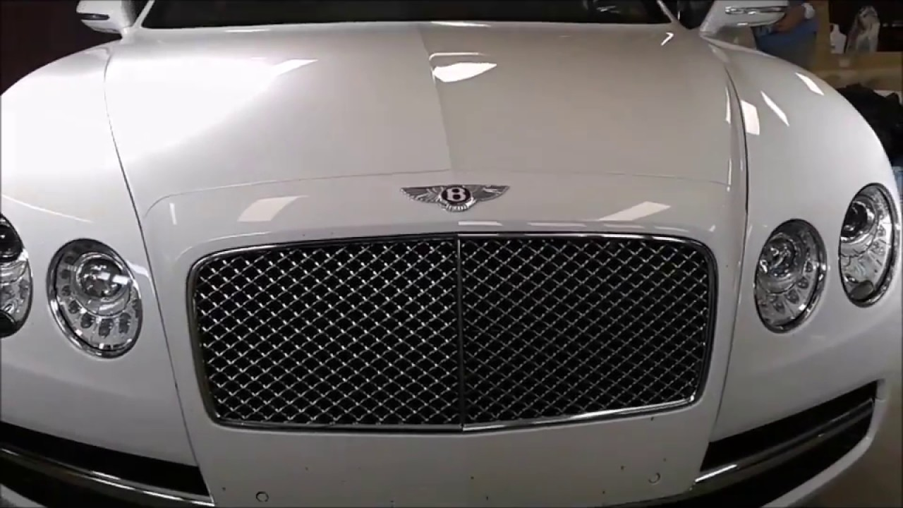 2017 Bentley Flying Spur tinted by Tint My Ride