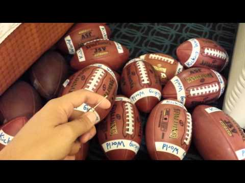Tips for Inflating a Kicking Football