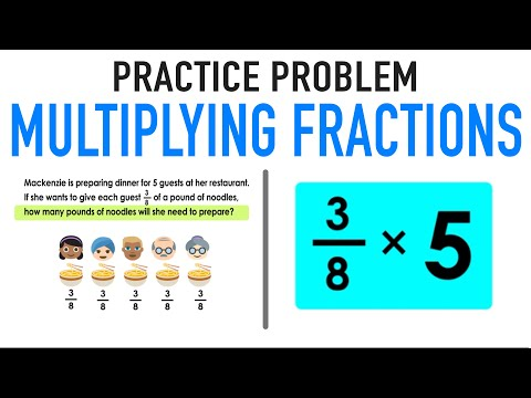 ✶ MULTIPLYING FRACTIONS WORD PROBLEMS
