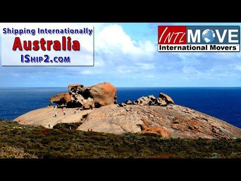 relocation Australia shipping company USA to Australia relocation