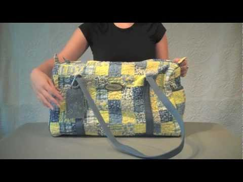 Designing A Quilted Duffle Bag