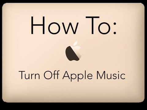 How To Turn Off Apple Music: iPhone