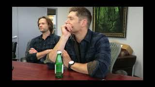 Supernatural Jared Padalecki Jensen Ackles on Wayward Sisters