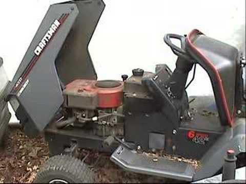 1982 craftsman ltv 10 lawn tractor with no compression. Black Bedroom Furniture Sets. Home Design Ideas