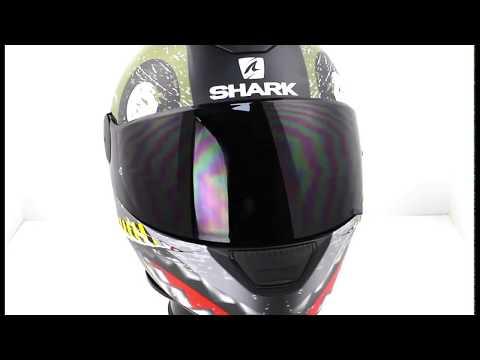 Shark D Skwal Motorcycle Helmet SAURUS