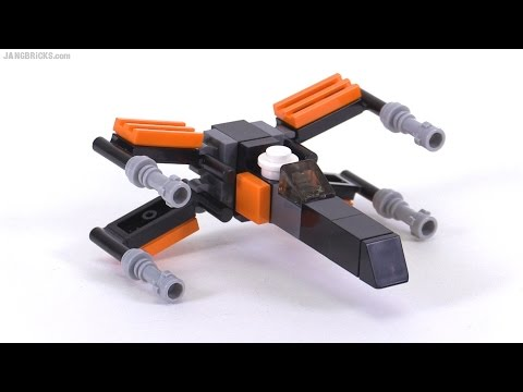 LEGO Star Wars Toys-R-Us Poe Dameron X-Wing mini-build