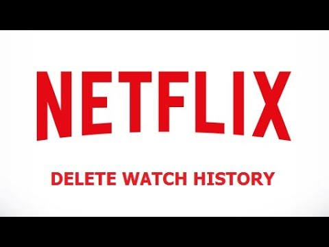 How To Delete Netflix History