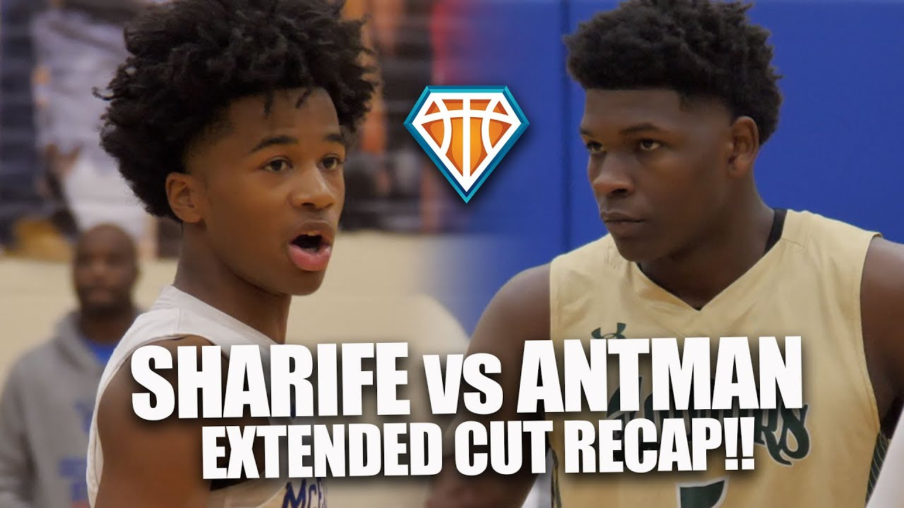 Sharife Cooper vs Anthony Edwards EXTENDED CUT!! One of the BEST BASKETBALL ATMOSPHERES I've Seen