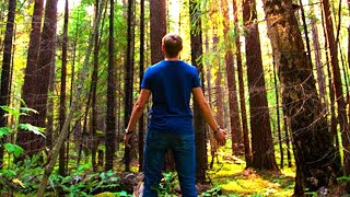 Муж каждое воскресенье уезжал в лес. Жена решила проследить, потом  она долго не могла придти в себя