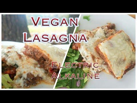 Alkaline Vegan Lasagna! Dr. Sebi✅ Soy-Free, Gluten Free Electric Food🔋⚡️