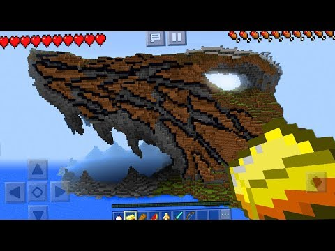 The BEST Seed Ever! - Shark Island Seed in Minecraft Pocket Edition