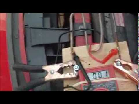 Car Battery Tester Measure Amps and Alternator Draw