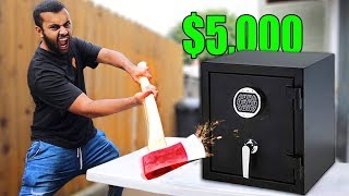 Download $5,000 If You Can Break Open This Abandon Safe!! (UNBREAKABLE SAFE CHALLENGE) Video