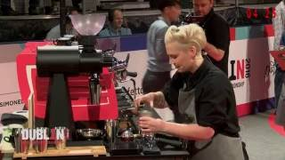 World Barista Championships 2016 - Performance Erna Tosberg