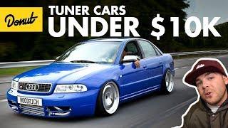 Best Tuner Cars Under 10k   The Bestest   Donut Media