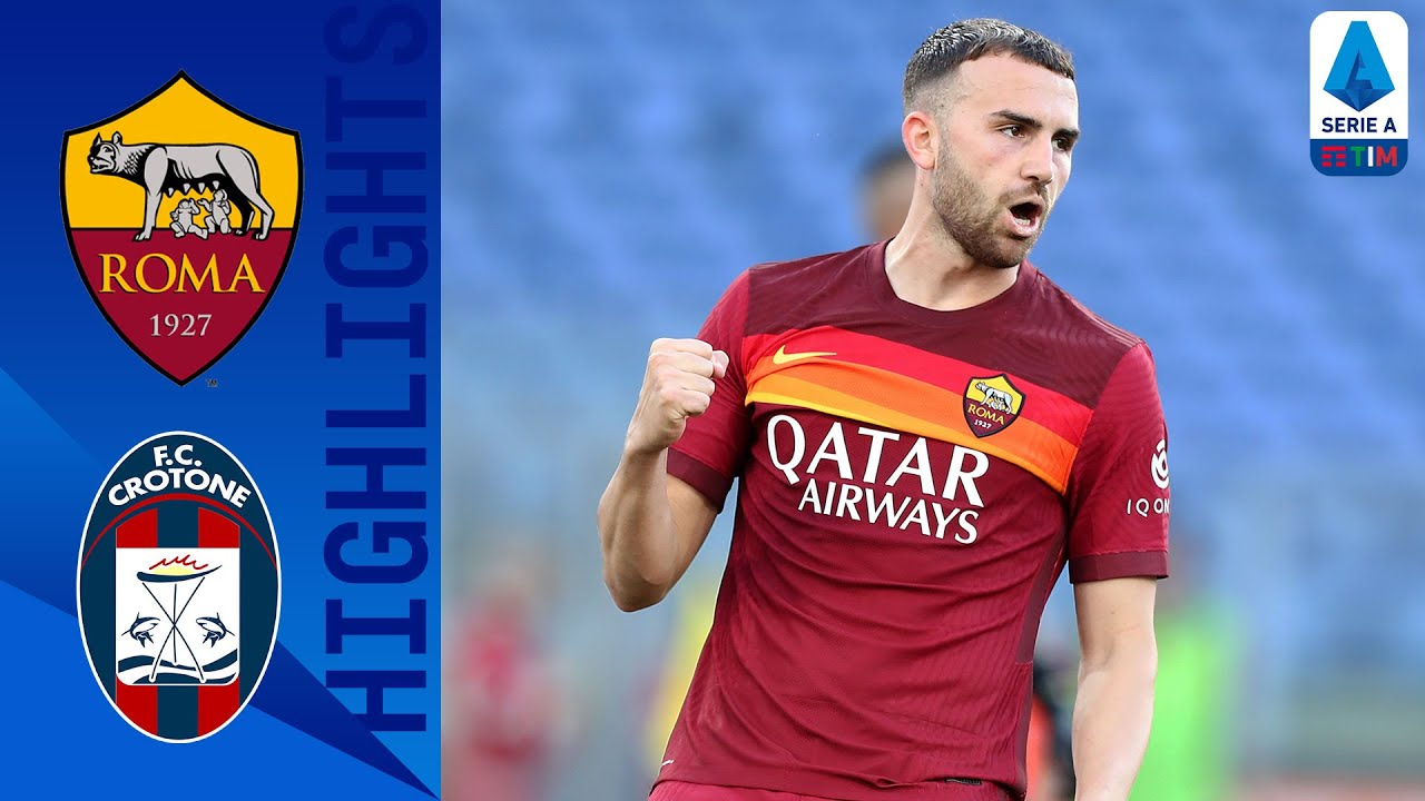 Roma 5-0 Crotone   Pellegrini and Mayoral score a brace for hosts!   Serie A TIM