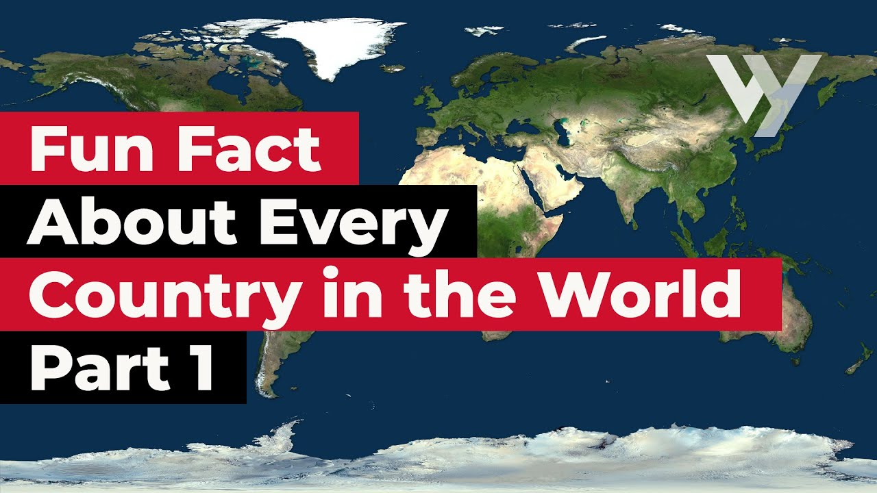 Fun Fact About Every Country in the World - Part 1
