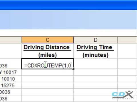 New! Drive Time & Driving Distance Analysis with Map Business Online ...