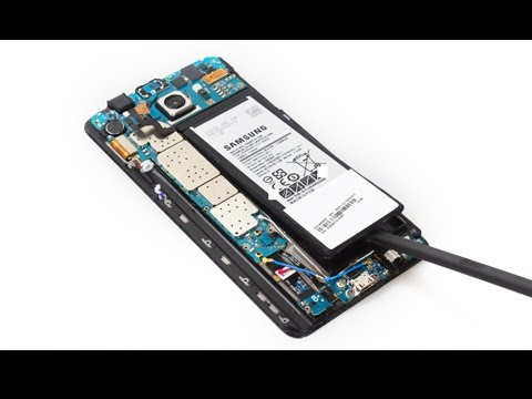 How to replace Samsung Galaxy Note 5 Battery