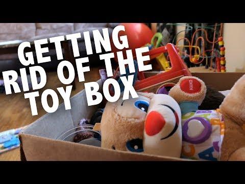Toy Box Organization || #Momlife Chat