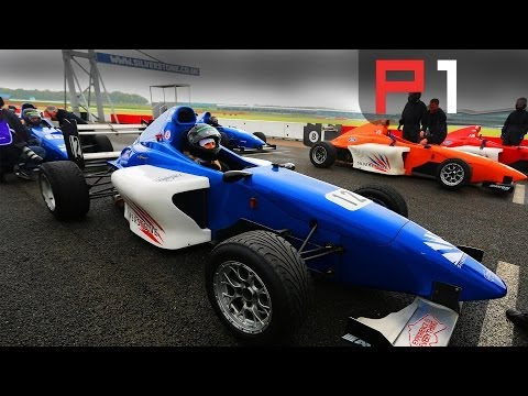 Epic driving experience day at Silverstone - drifting and single seater racing in the wet!