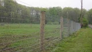 Stretching A Woven Wire Fence