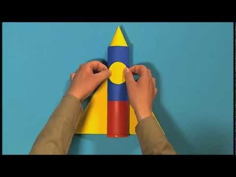 Mister Maker: How to Make a Mini Space Rocket
