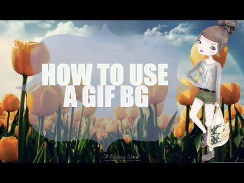 How To Use A GIF Background On Twitter [2013]