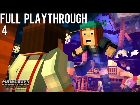 Minecraft Story Mode - Who Will We Go Searching For? - Lets Play 4
