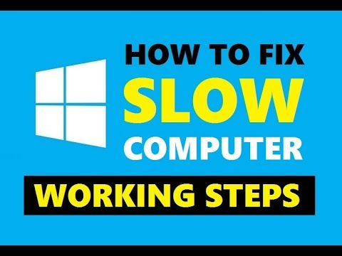 How to Speed Up My PC or Laptop | Make Your PC Run Faster Without Lag 2019 | Simple Steps