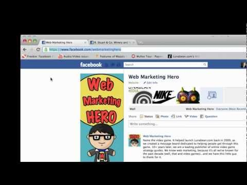 How To: Create a Facebook Username (Vanity URL)