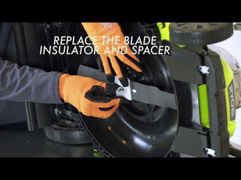 How To: Replace a RYOBI Mower Blade
