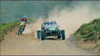 Bike vs Car: Ariel Nomad vs Suzuki, on DIRT - /SUTCLIFFE on CARS
