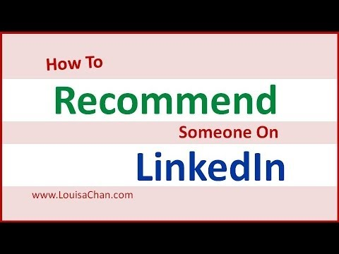 How To Leave A Recommendation On LinkedIn
