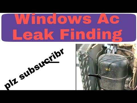 Window Ac Leak Finding In Urdu/Hindi Muhammad Naeem