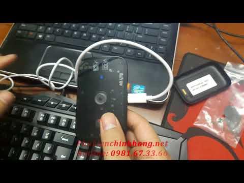 Hướng dẫn sửa lỗi reset Bộ phát Wifi 4G Huawei E5575 không đăng nhập được