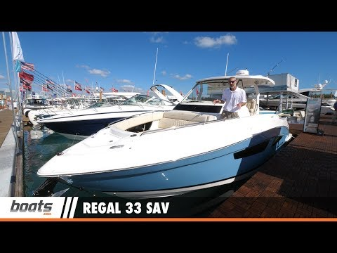 Regal 33 SAV: First Look Video
