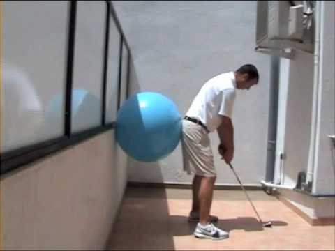 Golf tips - Andy Gordon Golf Instruction- Maintaining your golf posture