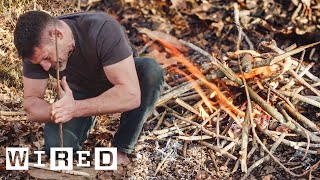 How to Start a Fire in a Survival Situation   Basic Instincts   WIRED