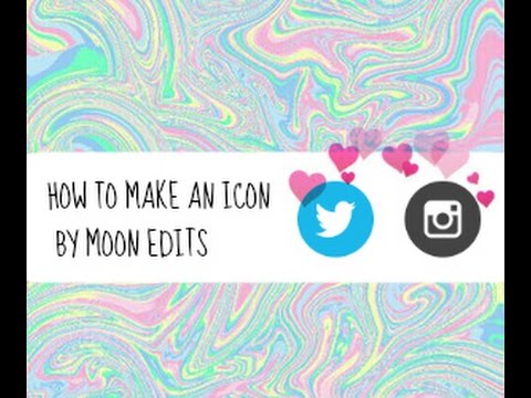 How to make icons for Instagram,Twitter and more!
