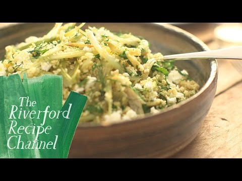 Braised Fennel & Bulgur Salad recipe