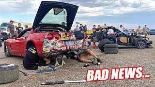 RACE WEEK Day 6: The Axlepocalypse, But the Damage Goes Deeper... BAD News for Ruby!!!