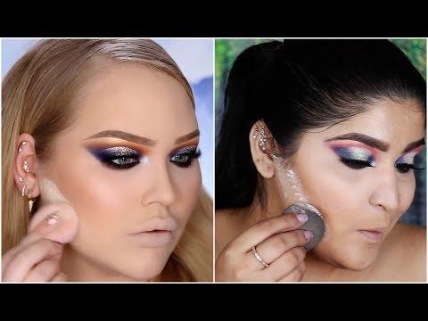 I Tried Following A Nikkie Tutorials Makeup Tutorial | Epic Fail | Shreya Jain