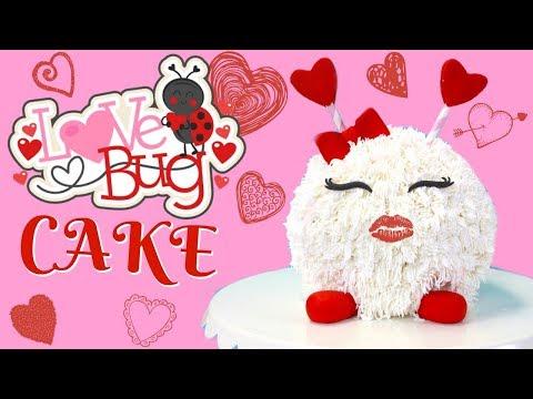 LOVE BUG CAKE w/ MARISHA'S COUTURE CAKES