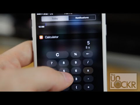 How to Use Widgets in iOS 8