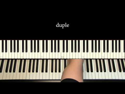 Piano Tutorial 16: Common rhythms in 6-8 time