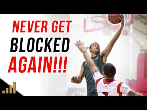 NEVER GET BLOCKED AGAIN!!! How to Finish Against TALLER Defenders using the UP AND UNDER MOVE!