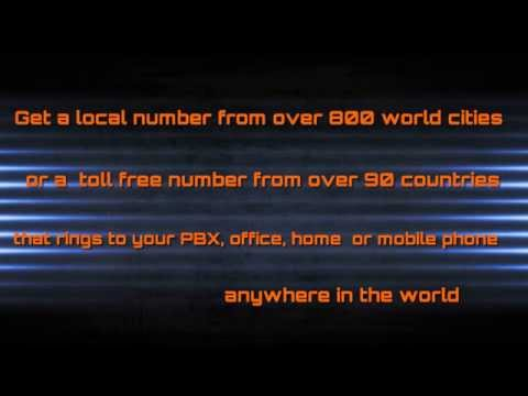 How to get a global phone number World Call Forwarding